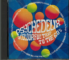 CD Psychedelix - A Colourful Trip To The 60's,Varius-Top,Tracklist 2.Foto ,RARE