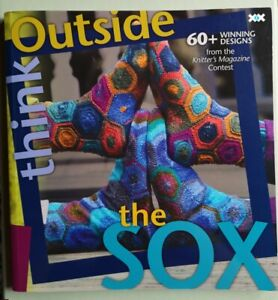 Buch Think Outside the Sox Socken stricken RAR The Knitter Mustersocken Hexagon