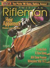 American Rifleman May 2006 Kimber's Long Action/Top Picks Guns Optics Ammo