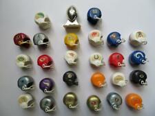New listing 1972 Mini Plastic Gumball Football Helmet NFL Complete Set of 26