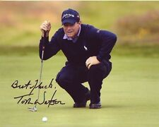 TOM WATSON Signed PGA GOLF Photo w/ Hologram COA