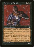 MTG Crovax the Curse NM Stronghold STH Magic English reserve list vampires EDH