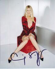 CLAUDIA SCHIFFER Signed Photo w/ Hologram COA