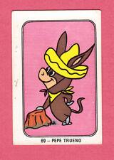 Quickdraw McGraw Baba Looey Vintage 1960s Hanna Barbera Cartoon Card Spain #69