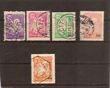 MOZAMBIQUE 1943/51/52/56 USED-NICE!