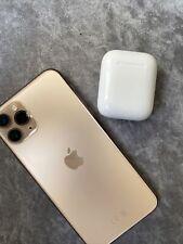 Apple iPhone 11 Pro + Apple Airpods  - 64GB - Gold (Unlocked)
