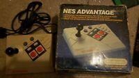 Nintendo NES Advantage Entertainment System Joystick Controller Remote With Box!