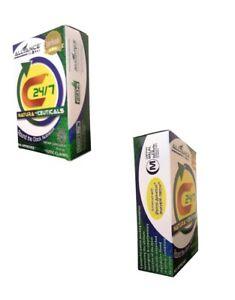 C24/7 AIM GLOBAL Vitamin E, C, D, B1,B6, B12, K, Zinc, High ORAC Value 60 Caps