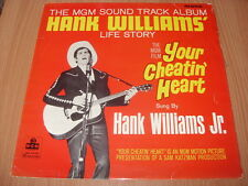 Hank Williams Jr:  Your Cheatin' Heart (Original Soundtrack)  UK  Mono  1964 LP