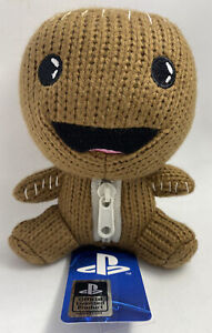 "NEW Stubbins PlayStation Sackboy - Brown 6"" Plush - LittleBigPlanet"