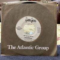 """Dave Edmunds - Get Out Of Denver 7"""" 45rpm Swan Song 1977 Promotional Mono/Stereo"""