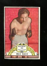 Max Baer 1951 Topps Ringside Card #11 Boxing Heavyweight Ex 31317