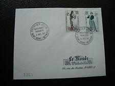 REUNION - enveloppe 1er jour (le monde des philateliste) 8/12/1963 (cy43)