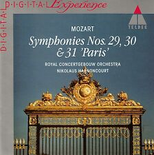 MOZART : SYMPHONIES NOS. 29, 30 & 31 / RCO - HARNONCOURT / CD - TOP-ZUSTAND