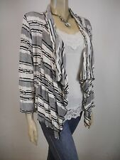 KATHLEEN BERNEY Drape Jacket sz 14 - BUY Any 5 Items = Free Post