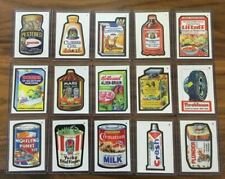 2019 Topps Wacky Packages Demand Mars Attacks Red Crudlow Complete Set 15/15 NM