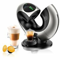 Delonghi Eclipse EDG 736.S Nescafe Dolce Gusto Capsule Coffee Machine Silver NEW