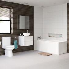 Rectangle White Baths