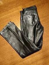 The Gap boot cut Womens Leather size 4 biker  Pants