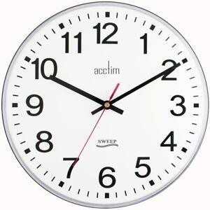 CLOCK, SWEEP, CLERKENWELL, 30CM, PRODUCT RANGE ACCTIM - SILENT SWEEP FOR ACCTIM