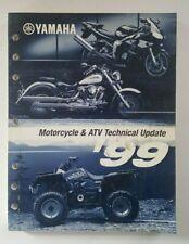 Genuine Yamaha 1999 Motorcycle Atv Technical Update Manual