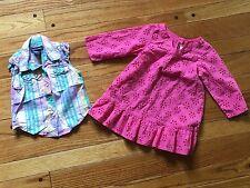 Lot 12m 18m RALPH LAUREN Gymboree Toddler Girls Clothes Dress Boho Shirt