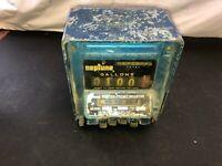 Vintage Neptune Meter Register 834 Series Not Tested SOLD AS IS