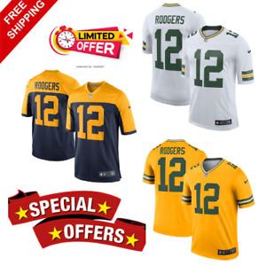Aaron Rodgers Green Bay Packers  Team Men Jersey