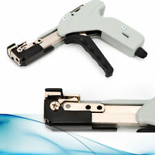 Metal Wrapcable Zip Tie Strap Cutting Hand Tool Gun Cutter Tension Fastener New