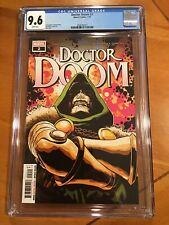 DOCTOR DOOM #2 | Main Cover | Marvel Comics | Christopher Cantwell CGC 9.6