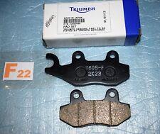 2 plaquettes de frein origine TRIUMPH Daytona 750 900 trophy 1200 TIGER 1050
