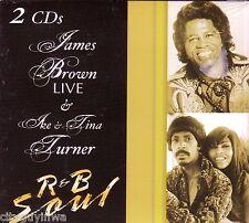 JAMES BROWN IKE TINA TURNER 2CD Digipak 60s 70s R&B TRY ME ROCK ME BABY