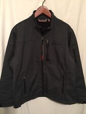 New Free Country Men Water/Wind Resistant Softshell Jacket Gray XL $100