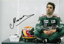 Antonio Pizzonia mano firmado Jaguar Racing F1 12x8 Foto 6.