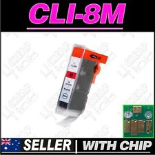 1x Magenta Ink for Canon CLI8M MP830 MP960 MP970 MX850 iP4200 iP4300 iP4500