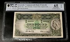 AUSTRALIA 1 pound 1953 Pick# 30a FIRST TYPE! THE ONLY GRADED GEM UNC ON EBAY!