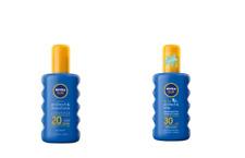Nivea Moisturising Sun Spray SPF20 200ml & Kids Sun Spray SPF30 200ml (SET)
