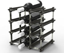 9 NOOK® Wine Rack - Easy 2 Step Assembly - No Hardware Required - Free Shipping!