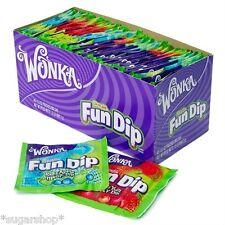 2 Packs Fun Dip 48 Count by WONKA Nostalgic Candy, FREE BULK SHIPPING