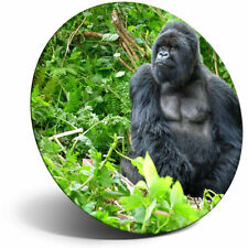 Awesome Fridge Magnet - Silverback Mountain Gorilla Cool Gift #3014
