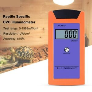 RGM-UVC High Accuracy UVC Light Meter 220-280NM UV Radiation Reptile Illuminance