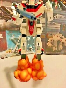"""G1 Jetfire/Robotech Valkyrie Blastoff display stand. 1/55 scale hand painted 3"""""""