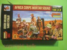 NEU 1:72 Strelets #280 WKII Deutsches Afrika Korps Granatwerfer etc Mortar Squad
