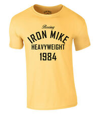 Boxing Hierro Mike Heavyweight Olympic 1984 Camiseta Mike Tyson Nuevo S-XXL