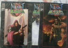 Stan Winston's Mutant Earth (3) comic book lot Image Comics Variant cover
