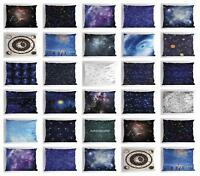 Retro Constellation Pillow Sham Decorative Pillowcase 3 Sizes Bedroom Decor