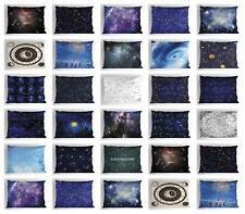 Retro Constellation Pillow Sham Decorative Pillowcase 3 Sizes Bedroom Decor