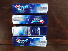 4-Crest 3D White Luxe Diamond Strong Whitening Toothpaste,Brilliant Mint,3.5 oz