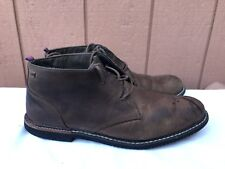 Mens Timberland Antifatigue Chuka Brown Leather Ankle Boots Sz US 9.5