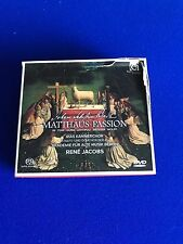 NEW Johann Sebastian Bach - Bach: Matthäus-Passion (2017) 2 CD DVD Book Dam box